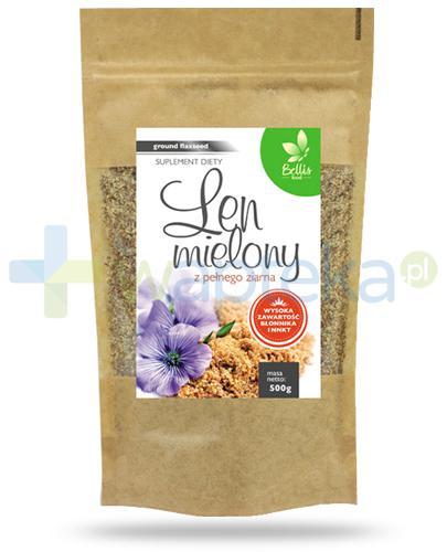 Bellis Food Len mielony z pełnego ziarna 500 g