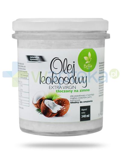Bellis Food Olej kokosowy Extra Virgin tłoczony na zimno 340 ml