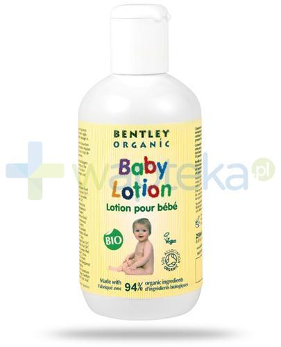 Bentley Organic Baby Care mleczko nawilżające do ciała z rumiankiem, aloesem i witaminą E 250 ml