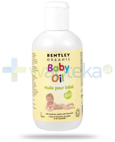 Bentley Organic Baby Care olejek pielęgnacyjny z wyciągiem ze słonecznika, jojoby i rumianku 250 ml
