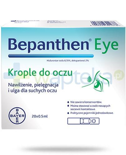 Bepanthen Eye krople do oczu 20x 0,5 ml