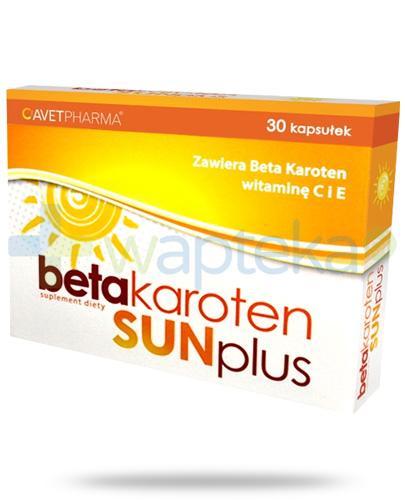 Beta Karoten Sun Plus 30 kapsułek