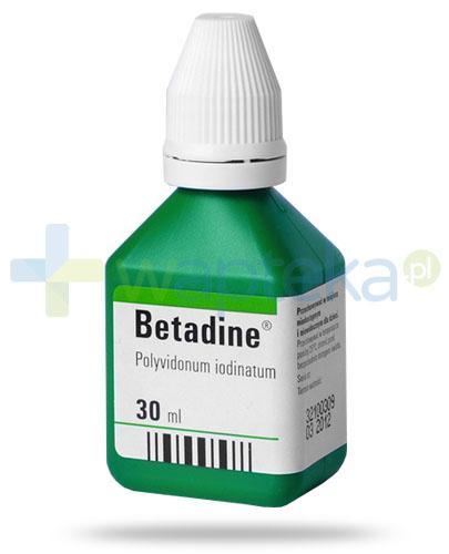 Betadine roztwór na skórę 30 ml