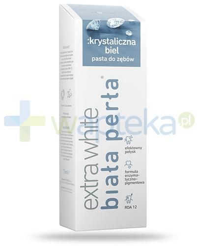 Biała Perła Extra White Krystaliczna biel pasta do zębów 75 ml