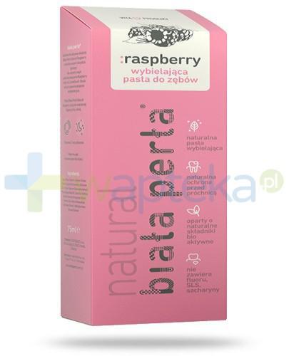 Biała Perła Natural Raspberry pasta do zębów 75ml