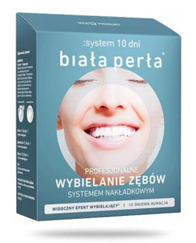 Biała Perła system wybielający zęby w 10 dni systemem nakładkowym