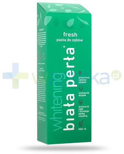 Biała Perła Whitening Fresh pasta do zębów 75 ml