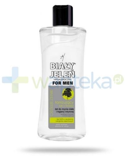Biały Jeleń For Men Sok z brzozy Żel do ciała i higieny intymnej 265 ml