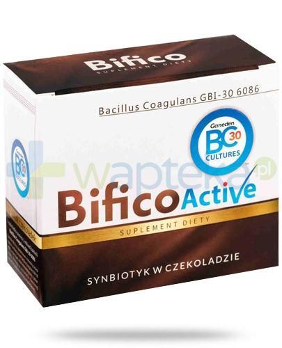 Bifico Active synbiotyk w czekoladzie 12 sztuk