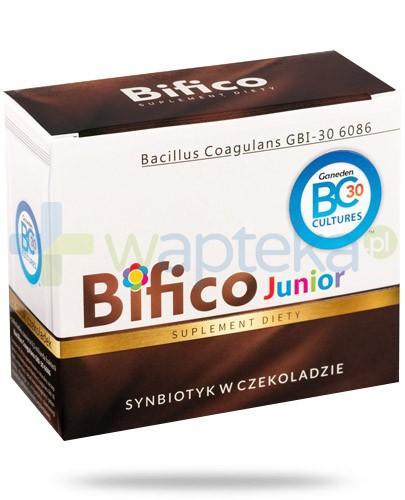 Bifico Junior synbiotyk w czekoladzie 12 sztuk