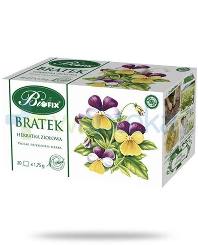 BiFIX Bratek herbatka ziołowa ekspresowa 20 torebek