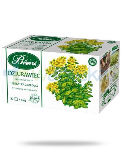 BiFix Dziurawiec herbatka ziołowa 20 torebek