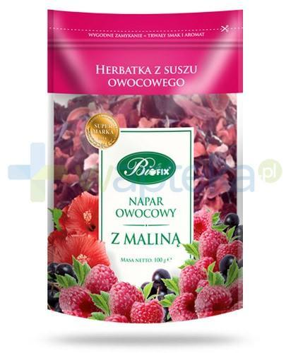 BiFIX Malina napar owocowy herbatka z suszu owocowego 100 g