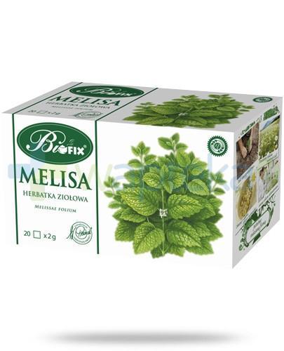 BiFIX Melisa herbatka ziołowa ekspresowa 20 torebek