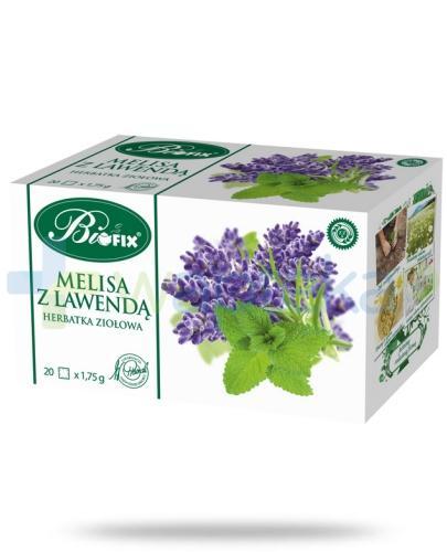BiFix Melisa z lawendą herbatka ziołowa 35 g