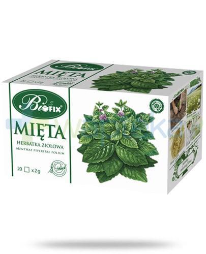 BiFIX Mięta herbatka ziołowa ekspresowa 20 torebek