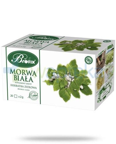 BiFIX Morwa biała herbatka ziołowa ekspresowa 20 torebek