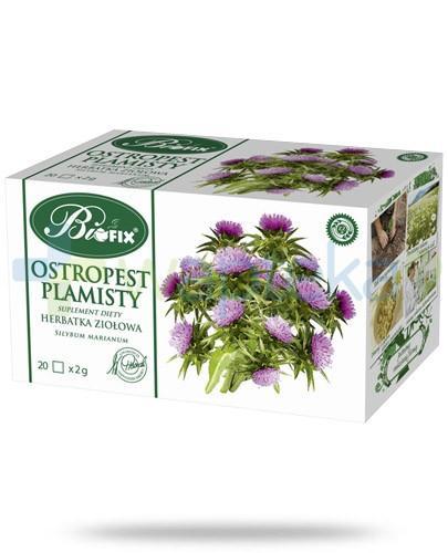 BiFIX Ostropest plamisty herbatka ziołowa ekspresowa 20 torebek