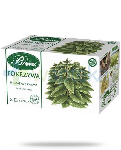 BiFIX Pokrzywa herbatka ziołowa ekspresowa 20 torebek