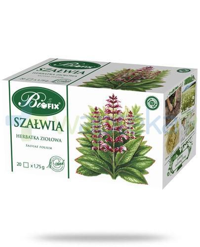 BiFIX Szałwia herbatka ziołowa ekspresowa 20 torebek