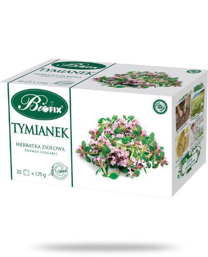 BiFix Tymianek herbatka ziołowa 20 torebek