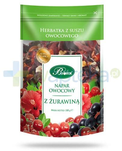 BiFIX Żurawina napar owocowy herbatka z suszu owocowego 100 g