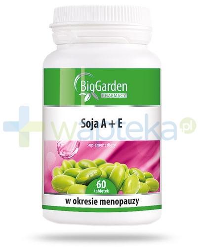 BigGarden Soja A+E  60 tabletek