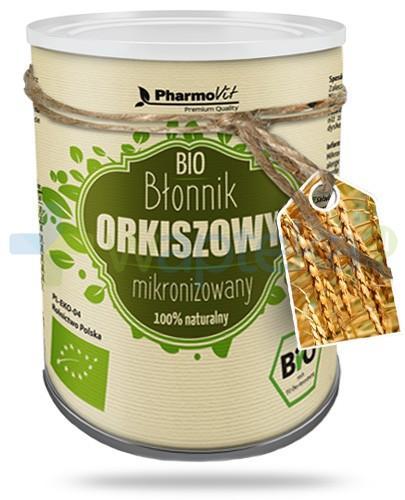 Bio błonnik orkiszowy mikronizowany 100% naturalny 120 g PharmoVit