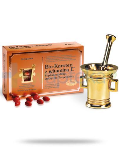 Bio-Karoten z witaminą E 30 kapsułek
