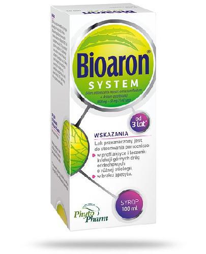 Bioaron System (1920 mg + 51 mg)/5ml  syrop dla dzieci 100 ml