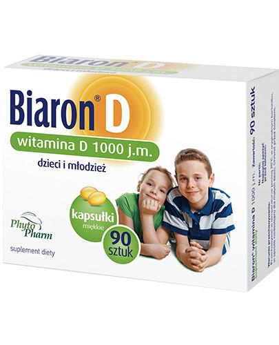 Bioaron witamina D 1000j.m. 90 kapsułek