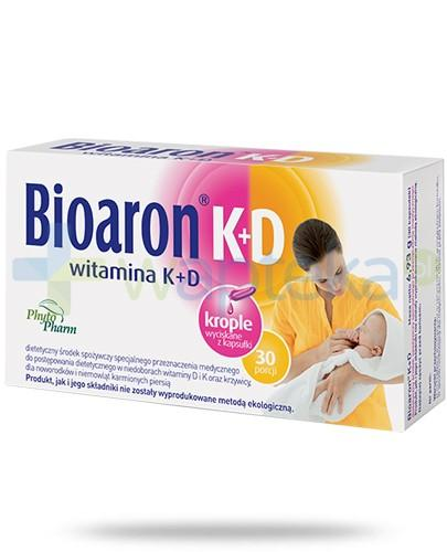 Bioaron witamina K+D 30 kapsułek