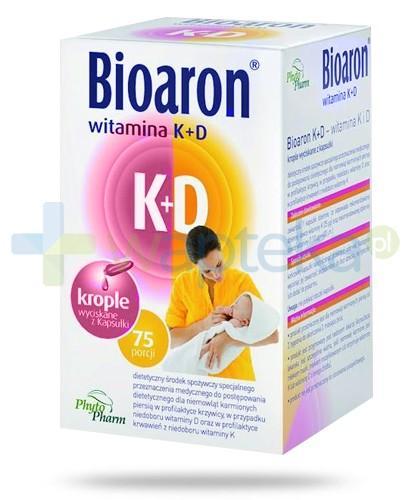 Bioaron witamina K+D 75 kapsułek
