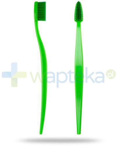 Biobrush szczoteczka do zębów BIO średnio-miękka zielona 1 sztuka