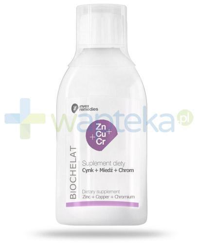 Biochelat Cynk Miedź Chrom płyn 150 ml