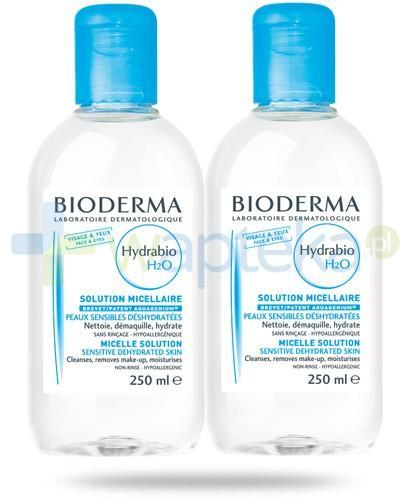 Bioderma Hydrabio H2O nawilżający płyn micelarny 2x 250 ml