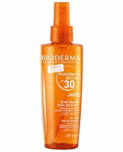 Bioderma Photoderm Bronz Huile Seche SPF30 UVA13 ochronny olejek przyspieszający opalanie 200 ml