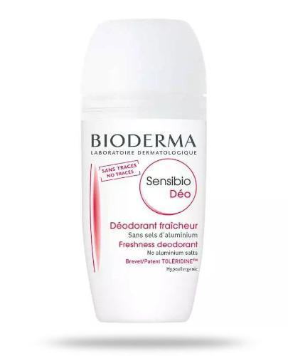 Bioderma Sensibio Deo Fraicheur roll-on Delikatny dezodorant do skóry wrażliwej 50 ml