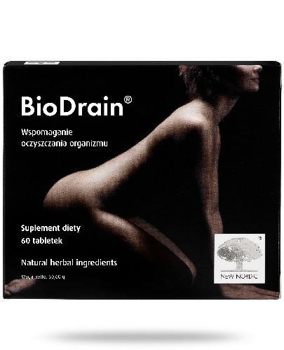 Biodrain 60 tabletek - Data ważności 31-03-2017