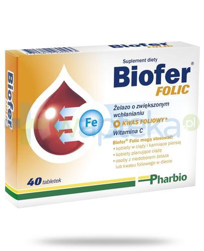 Biofer Folic 40 tabletek