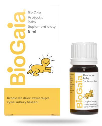 BioGaia ProTectis Baby probiotyczne krople dla dzieci 5 ml