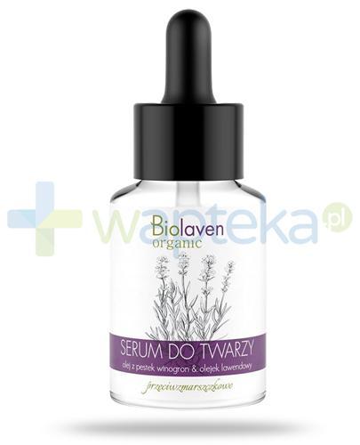 Biolaven Organic serum przeciwzmarszczowe do twarzy 30 ml