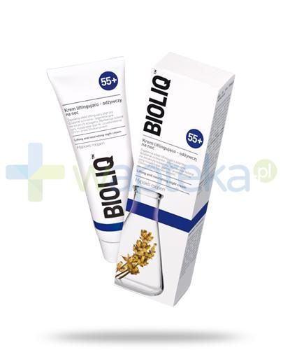 Bioliq 55+ krem liftingująco-odżywczy na noc 50 ml