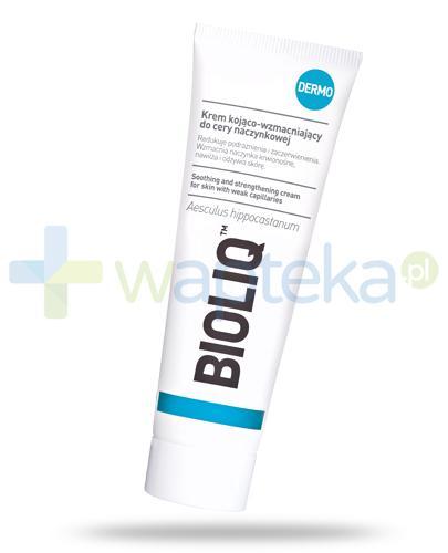 Bioliq Dermo krem kojąco-wzmacniający do cery naczynkowej 50 ml