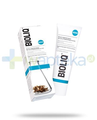Bioliq Dermo krem regenerujący do cery trądzikowej na noc 50 ml