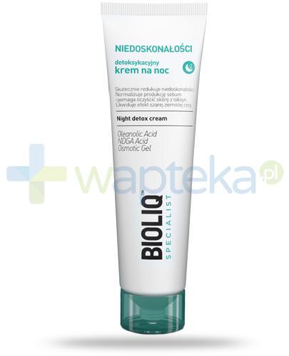 Bioliq Specialist Niedoskonałości detoksykacyjny krem na noc 30 ml