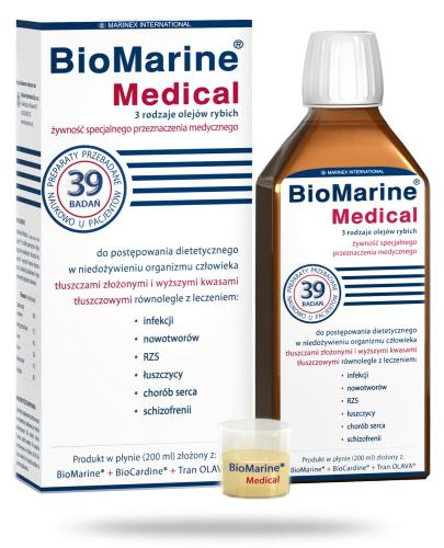 BioMarine Medical płyn do postępowania dietetycznego 200 ml