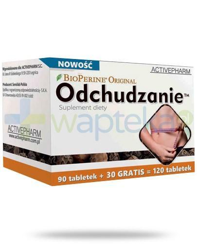BioPerine Original Odchudzanie 120 tabletek - Data ważności 30-03-2017