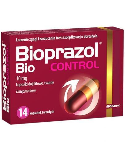 Bioprazol Bio Control 10mg 14 kapsułek twardych