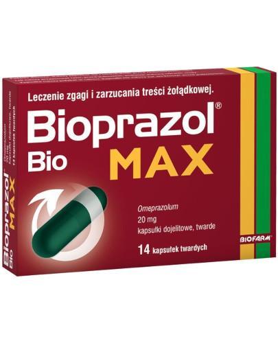 Bioprazol Bio Max 20mg 14 kapsułek